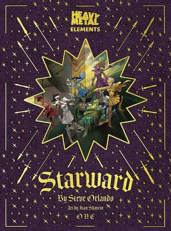 Steve Orlando, Ivan Shavrin's Starward From Heavy Metal in March 2021