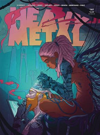 Cover image for HEAVY METAL #309 CVR A JILESEN (MR)