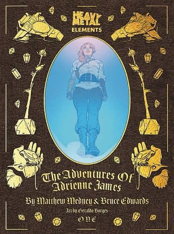 Cover image for ADVENTURES OF ADRIENNE JAMES #1 (OF 12)