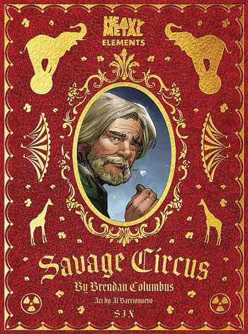 Cover image for SAVAGE CIRCUS #7 (OF 10) (MR)