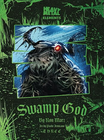 Cover image for SWAMP GOD #3 (OF 6) (RES) (MR)