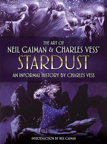 Cover image for ART NEIL GAIMAN & CHARLES VESS STARDUST HC