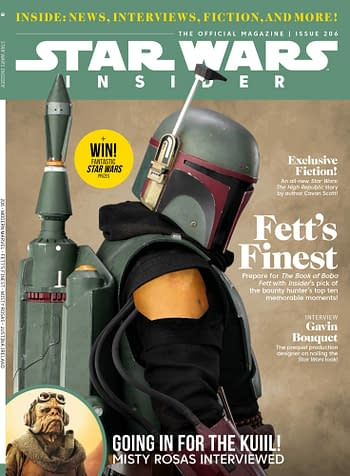 Cover image for STAR WARS INSIDER #206 NEWSSTAND ED