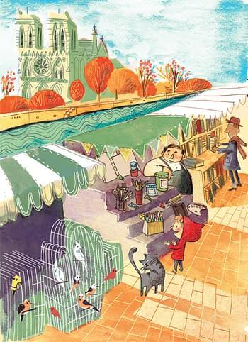 Corey R Tabor Sells Sir Ladybug Graphic Novels to HarperCollins