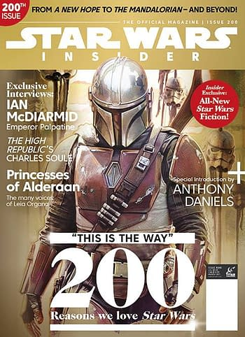 Cover image for STAR WARS INSIDER #200 COLLECTOR PACK