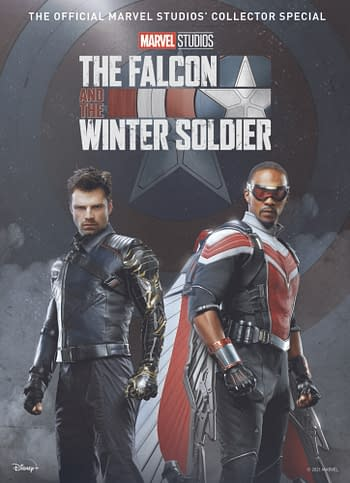 Cover image for MARVEL FALCON & WINTER SOLDIER SPECIAL HC