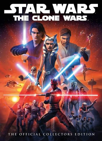 Cover image for STAR WARS CLONE WARS OFFICIAL COLL ED HC