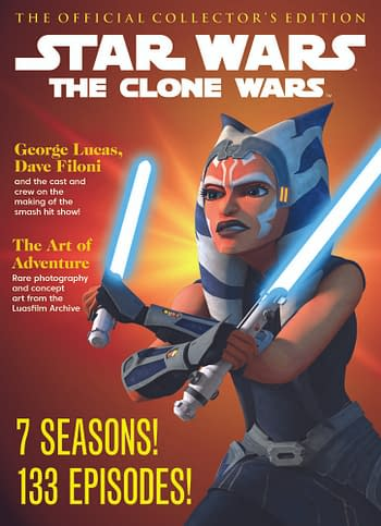 Cover image for STAR WARS CLONE WARS OFFICIAL COLL ED SC NEWSSTAND