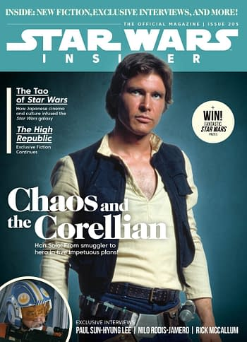 Cover image for STAR WARS INSIDER #205 NEWSSTAND ED