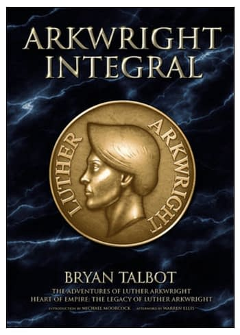 Arkwright Integral by Bryan Talbot and published by Dark Horse Comics.