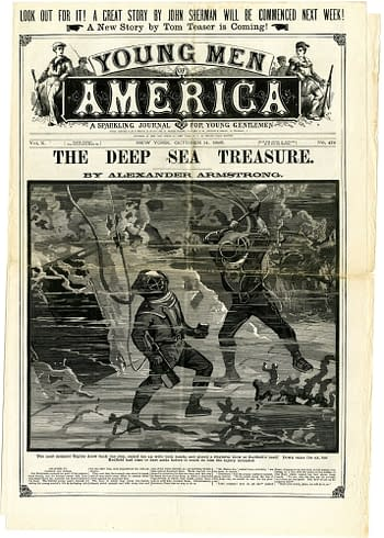 Young Men of America No. 475, October 14, 1886, published by Frank Tousey.