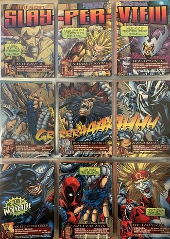 1996 Fleer Ultra X-Men: Wolverine Trading Cards Page 01 Back