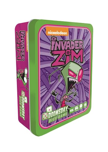 Cover image for INVADER ZIM DOOMSDAY DICE GAME (O/A)