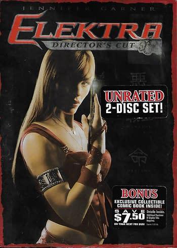 Elektra Special Edition DVD Front