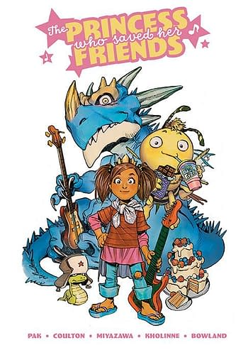 Cover image for PRINCESS WHO SAVED HER FRIENDS HC OGN