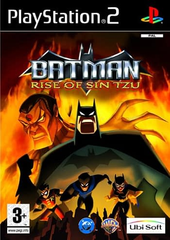 Batman Rise of Sin Tzu PS2 Cover
