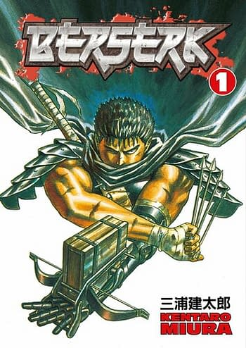 Berserk Volume 1 Dark Horse Edition Cover
