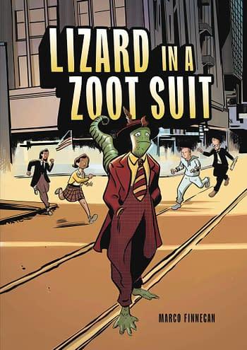 Lizard In A Zoot Suit GN