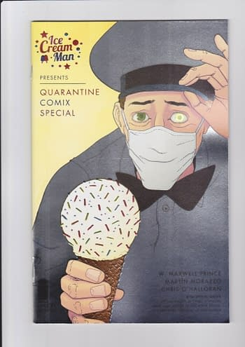 Ice Cream Man Gets A Thank You Foil Variant As a Cherry On Top