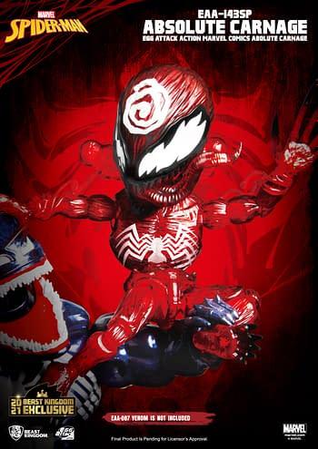 Absolute Carnage Rises As Beast Kingdom's Newest Marvel Figure