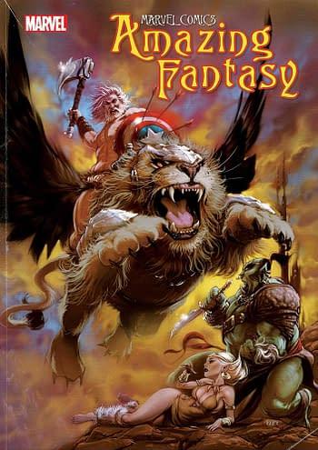 Kaare Andrews' Amazing Fantasy To Get Emergency Treasury Edition