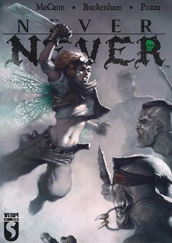 Cover image for NEVER NEVER #4 (OF 5)