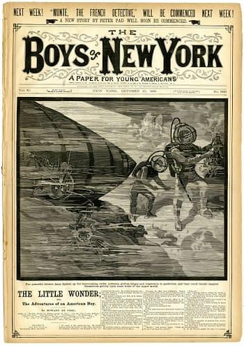 Boys of New York #530, October 10, 1885.