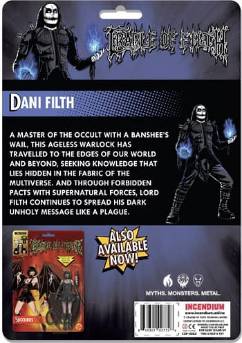 Cradle of Filth Gets A Heavy Metal Comic And An Action Figure Line