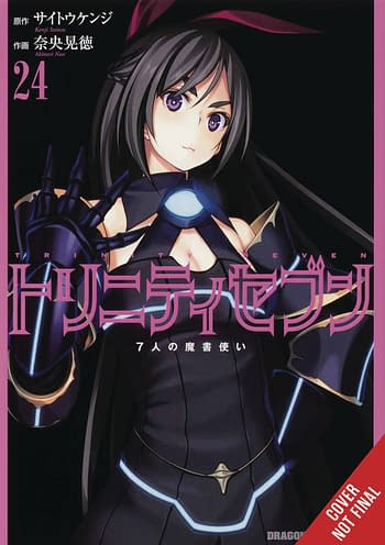Cover image for TRINITY SEVEN 7 MAGICIANS GN VOL 24