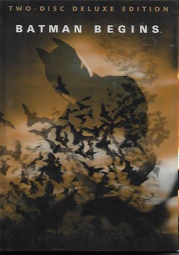 Batman Begins DVD Comic Boxset Front Cover The Dark Knight