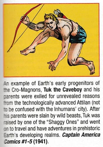 Tuk The Caveboy Responsible For The X-Men? Franklin Richards as the New Galactus? Two Histories Of The Marvel Universe, Tomorrow...