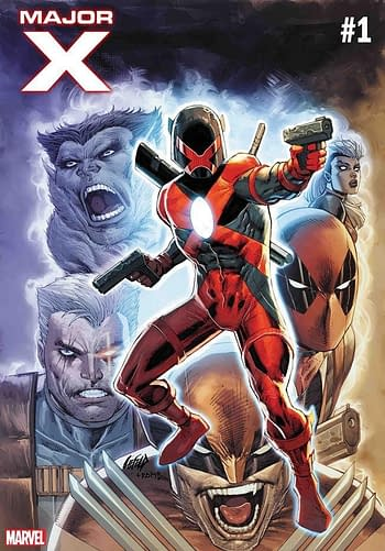 Rob Liefeld's Major X Tops Advance Reorders