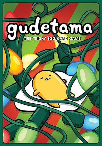 Cover image for GUDETAMA TRICKY EGG CARD GAME HOLIDAY ED