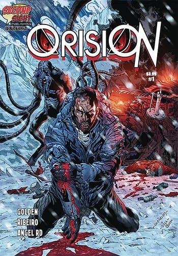 Cover image for ORISION #1 (OF 3) CVR A RIBEIRO (MR)