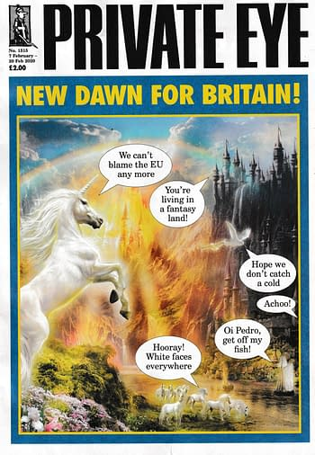 Private Eye Magazine Presents a Real-Life Brexit Fantasy