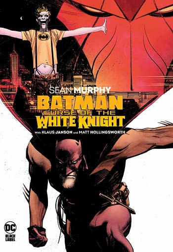 Batman Curse Of The White Knight HC Cover