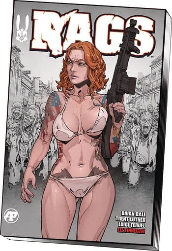 Rags Gets a TPB in Antarctic Press September 2020 Solicitations.