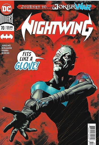 Nightwing #70 Second Print Cover