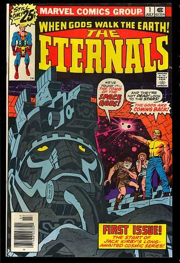 Rumor: Marvel Studios to Announce Eternals Movie Soon