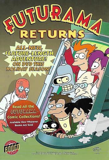 Futurama Returns Front Cover