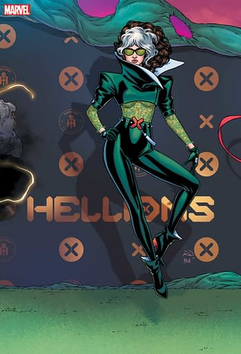 Russell Dauterman Hellfire Gala Connecting Variants hitting stores from Marvel in June