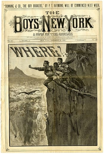 Boys of New York #749, December 21, 1889, published by Frank Tousey.