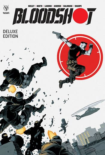Cover image for BLOODSHOT BY TIM SEELEY DLX HC