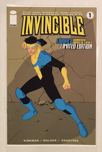 Invincible Amazon Prime TV Show Will Cover Invincible #1 to #13
