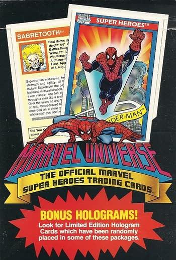 Impel 1990 Marvel Universe Series 1