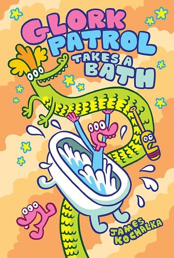Cover image for GLORK PATROL HC VOL 02 GLORK PATROL TAKES A BATH