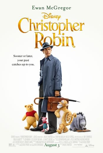 Christopher Robin Gets a New Poster, Plus a New Trailer Tomorrow