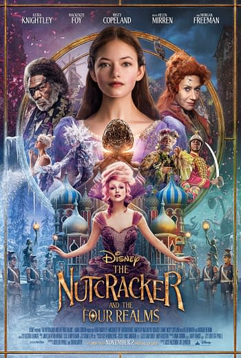 The Nutcracker and the Four Realms Review: Visually Beautifully But a Storytelling Mess