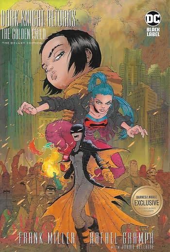 Dark Knight Returns The Golden Child HC Barnes & Noble Variant Front Cover