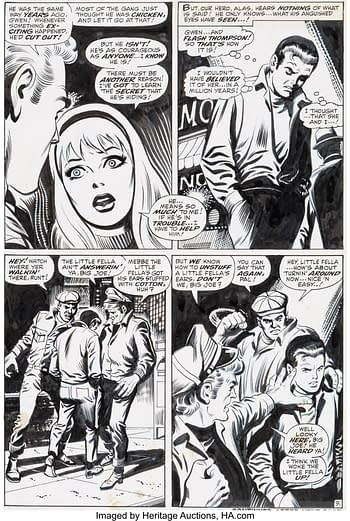 John Buscema and Jim Mooney Amazing Spider-Man #78 Story Page 9 Original Art (Marvel, 1969)
